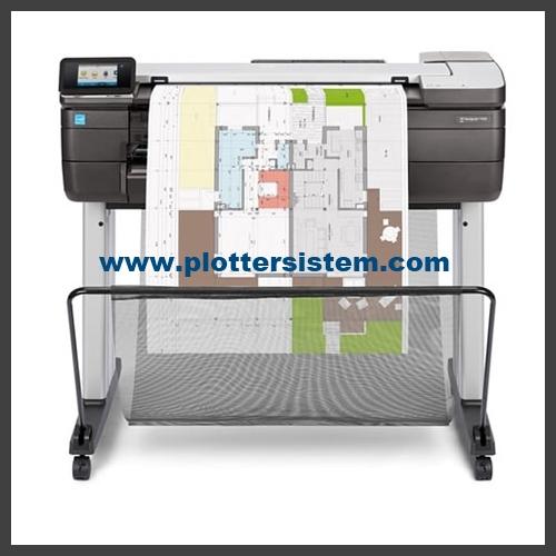 HP DesignJet T830 Plotter Yazıcı